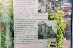 monumento dedicato a Georg Elser, attentatore di Hitler