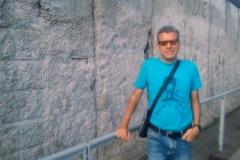 al muro di Berlino