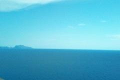 Capri vista dal parco Virgiliano