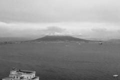 Il Vesuvio dormicchia (foto da Posillipo)