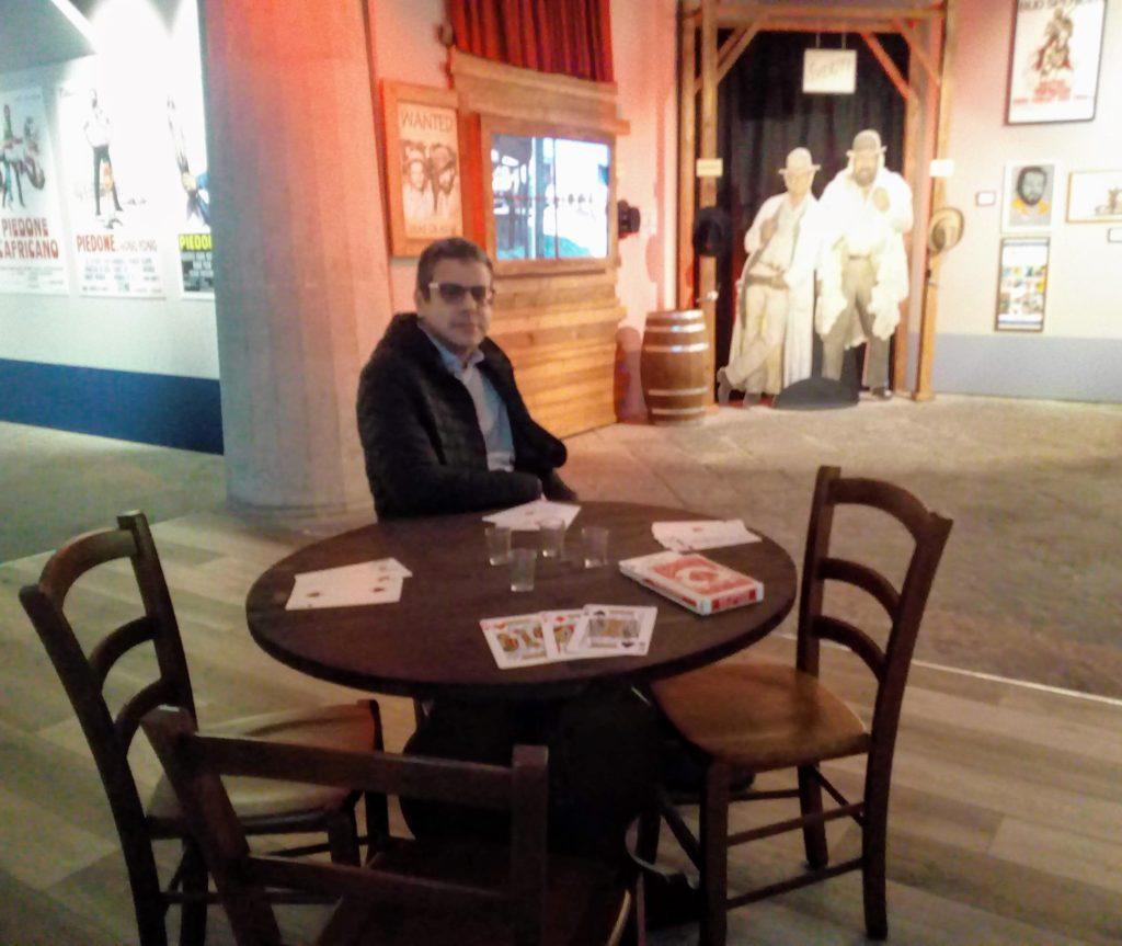 Alla mostra di Bud Spencer a Palazzo Reale di Napoli