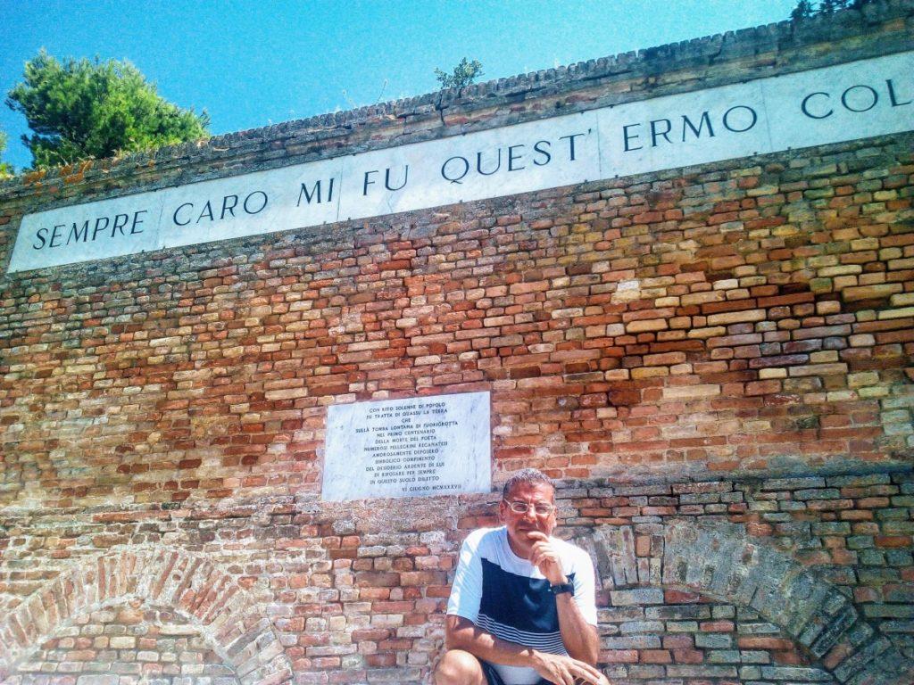A Recanati, sul colle de L'Infinito: un sogno realizzato!