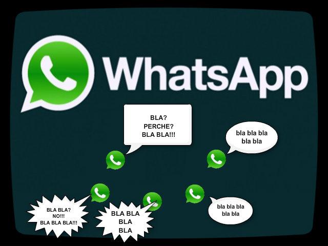 Grupp Whatsapp, la nuova frontiera della maleducazione