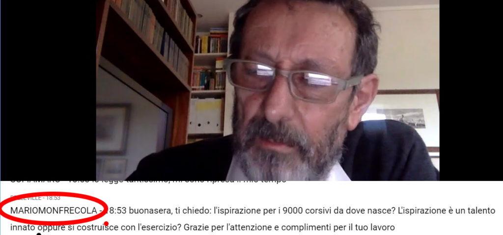 Michele Serra legge la mia prima domanda sui 9000 corsivi