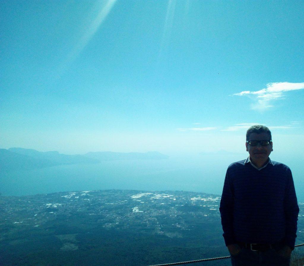 Vesuvio, 1167 metri sopra il livello del mare