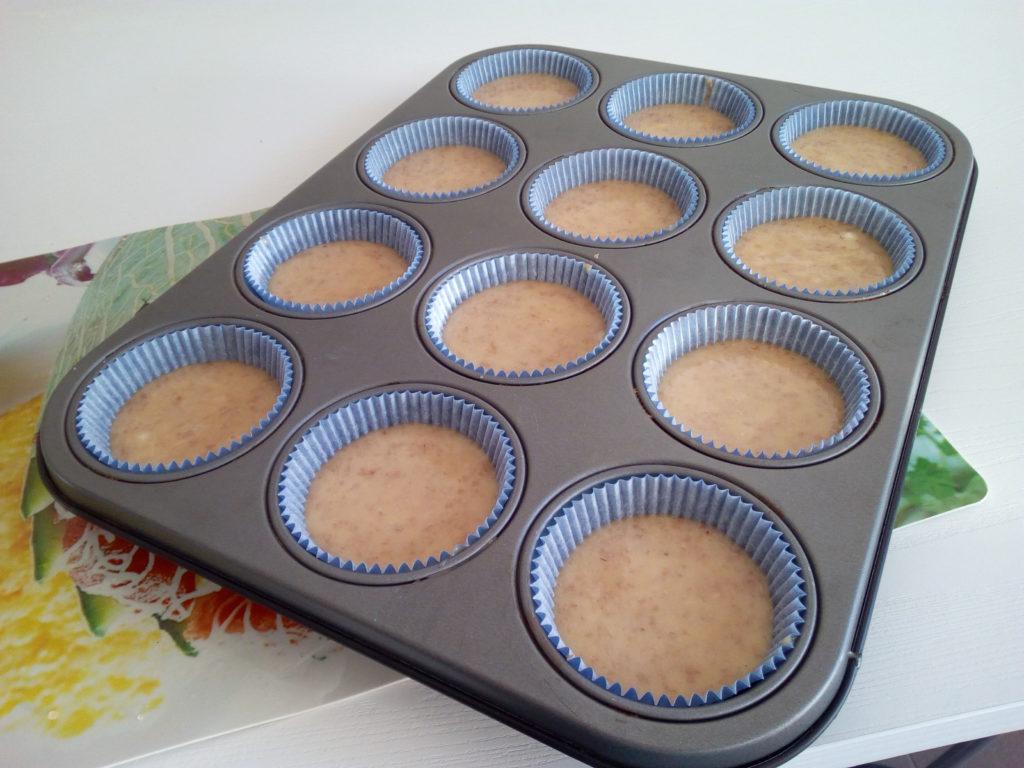 I muffin sono quasi pronti: occorre solo infornare