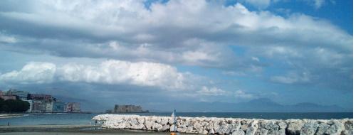 Fine Fase1, scatti (memorabili) di una Napoli deserta [FOTO]