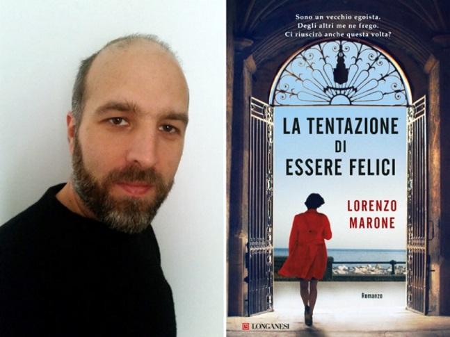"""Lorenzo Marone, autore di """"La tentazione di essere felici"""", un libro per ricordare il dramma della violenza sulle donne"""