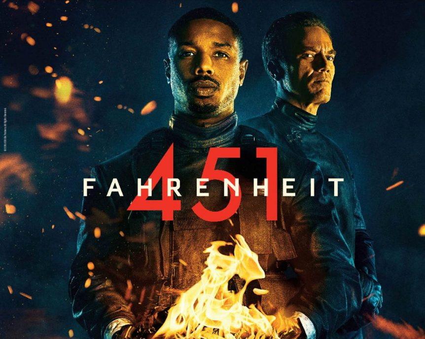Fahrenheit 451, un film del 2018 di Ramin Bahrani con Michael B. Jordan e Michael Shannon