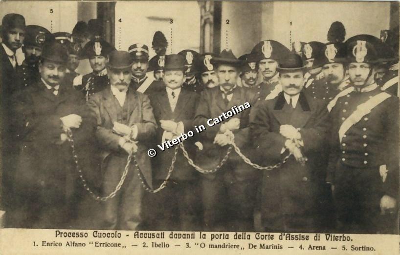 Processo Cuocolo (1911): grazie al capitano dei Carabinieri Carlo Fabroni, la camorra viene debellata da Napoli