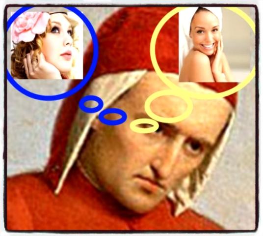 Le due donne di Dante Alighieri?
