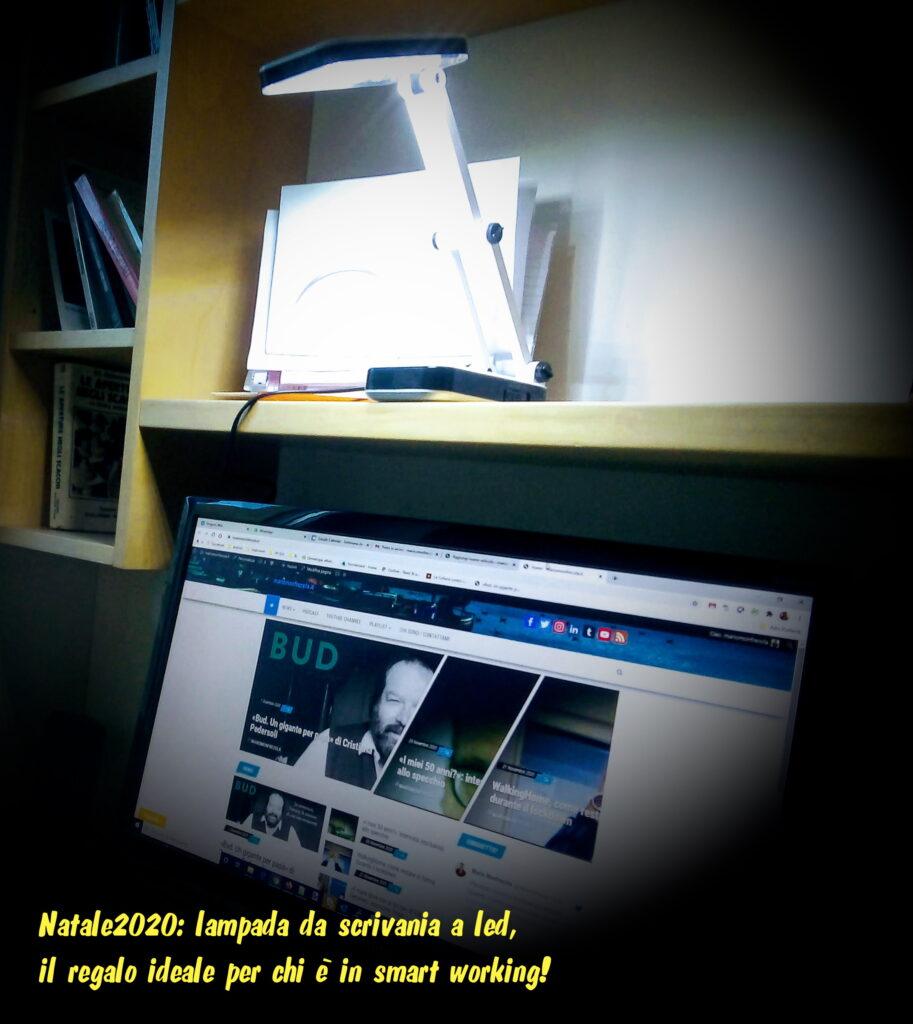 Natale2020: la lampada da scrivania a led, il regalo ideale per lo smart working