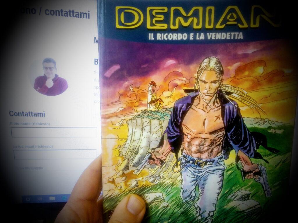 Regalo a vero appassionato di fumetti Demian, la miniserie Bonelli di 18 episodi