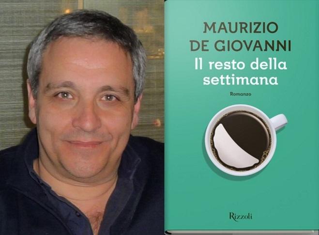 Maurizio De Giovanni, lo scrittore-tifoso autore de Il resto della settimana
