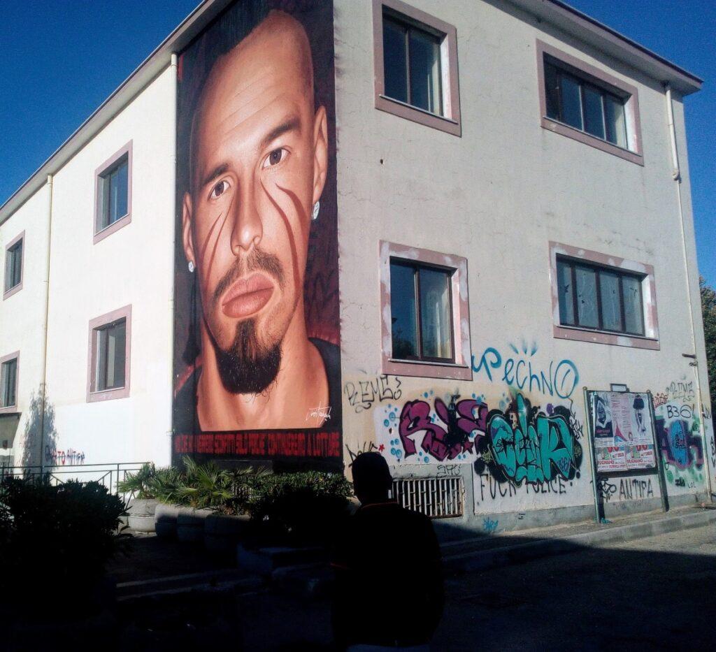 Quarto, il murales di Marek Hamsik disegnato da Jorit