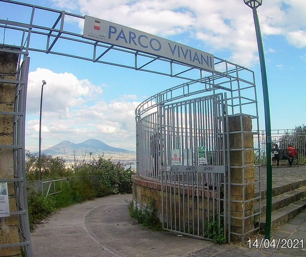 Parco Viviani di Napoli, un angolo di verde tra l'Arenella e il corso Vittorio Emanuele