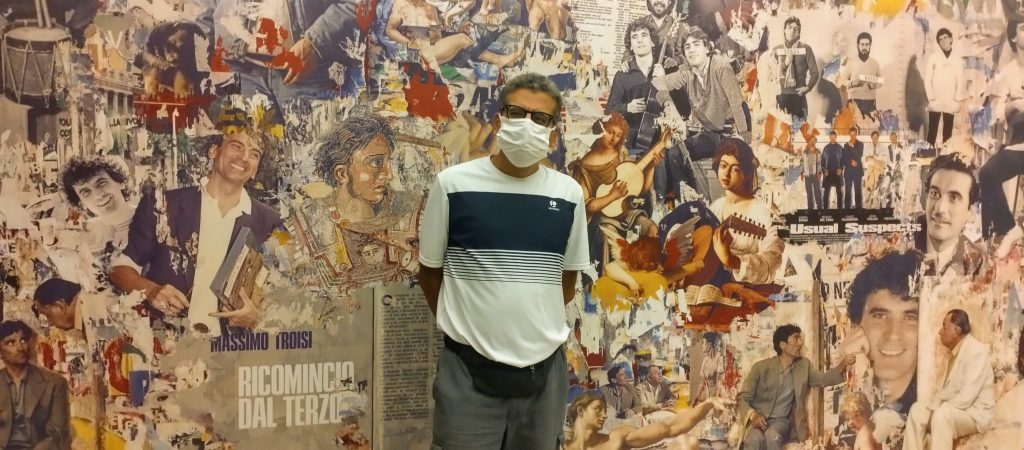 Alla mostra di Massimo Troisi a Castel dell'Ovo