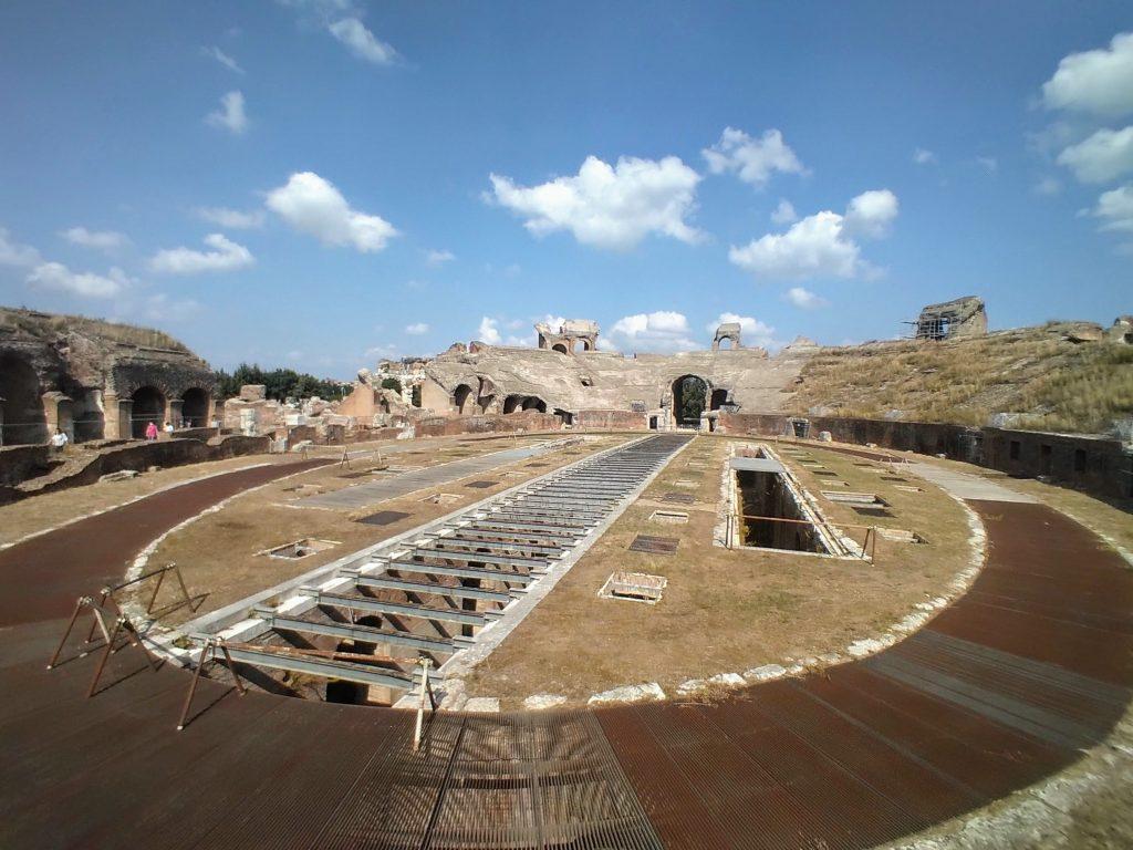 Anfiteatro campano di Santa Maria Capua Vetere, l'arena